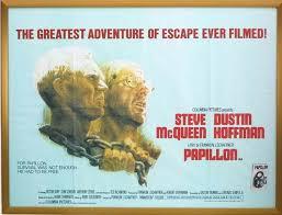 Papillon film poster