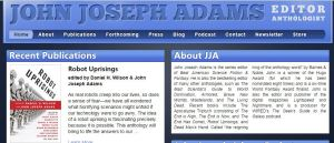 John Joseph Adams website